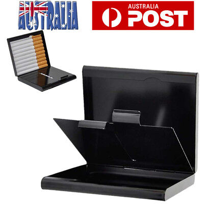 Pocket Cigarette Cigar Storage Case Box Tobacco Container Holder Black