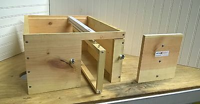 (1) VarroaXtractor Hive Box With Door Assembly