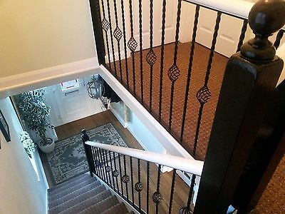 Wrought Iron, Railing, Balustrade, Staircase, Balcony, Banister. Spindle,