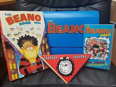 The Beano Annual Book 1994 in box with video and snapper