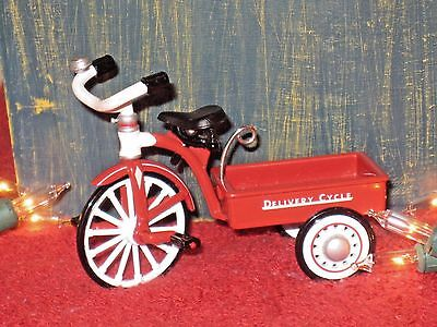 Hallmark Ornament 1999 - 1950 Garton Delivery Cycle Sidewalk Cruisers #3 No Box