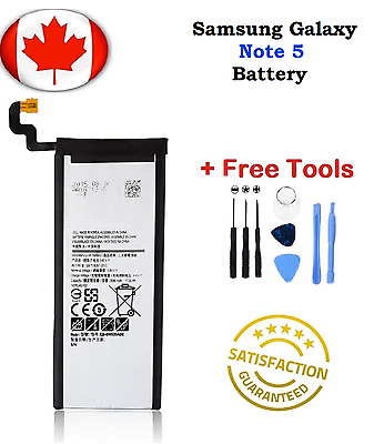 Brand New Samsung Galaxy Note 5 Replacement Battery 3000 mAh With Repair Tools