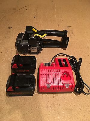 """FROMM P-326 43.2223 1/2"""" 18V battery strapping tool orgapack signode"""