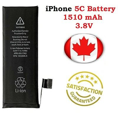 Brand New iPhone 5C Replacement Battery 616-0669 1510mAh