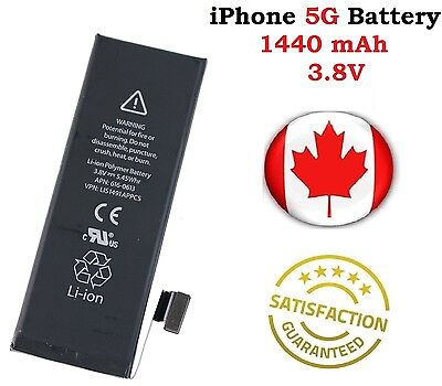 Brand NEW iPhone 5 5G Replacement Battery APN 616-0613 1440mAh