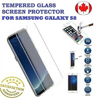 Curved / Flat Samsung Galaxy S8/S8 Plus Premium Tempered Glass Screen Protector