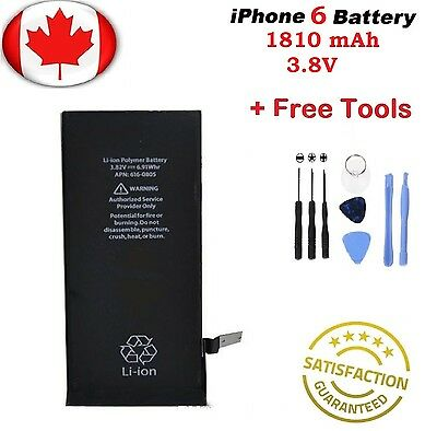 Brand New iPhone 6 6G Internal Replacement Battery With Repair Tools
