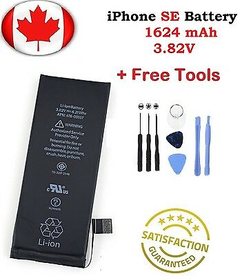 Brand New iPhone SE Replacement Battery 1624mah With Repair Tools