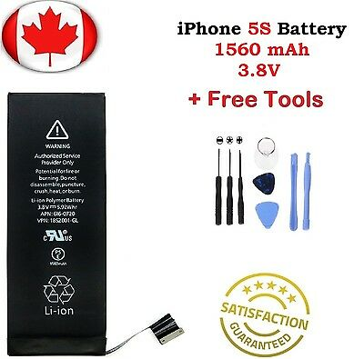 Brand New iPhone 5S Replacement Battery 616-0720 1560mAh With Repair Tools