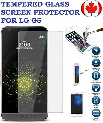 LG G5 Premium Tempered Glass Screen Protector