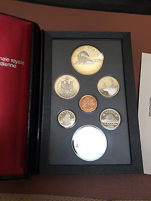 Gorgeous 1986 Double Dollar Proof Set (One Silver, One Nickel)