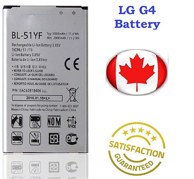 Brands New LG G4 Replacement Battery 3000 mAh