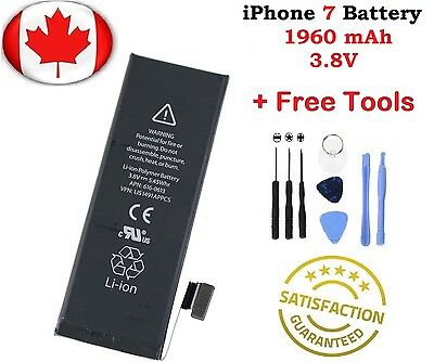 Brand New iPhone 7 Replacement Battery With Free Tools
