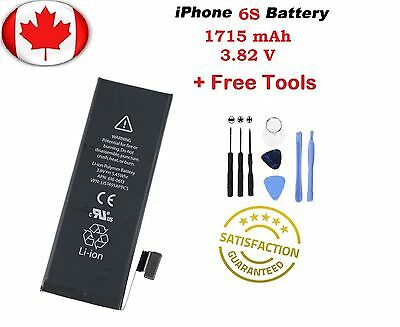 Brand New iPhone 6S Replacement Battery Lithium high Capacity With Tool Kit!!