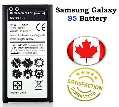 Brand New Samsung Galaxy S5 Replacement Battery 2800 mAh