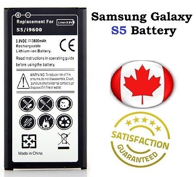 Brand New Samsung Galaxy S5/ S5 NEO Replacement Battery 2800 mAh