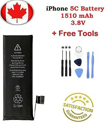 Brand New iPhone 5C Replacement Battery 616-0669 1510mAh With Repair Tools