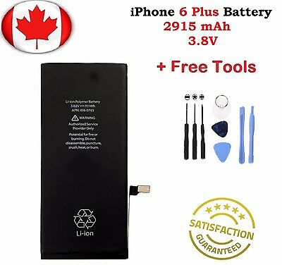 Brand New iPhone 6 Plus + Internal Replacement Battery With Repair Tools