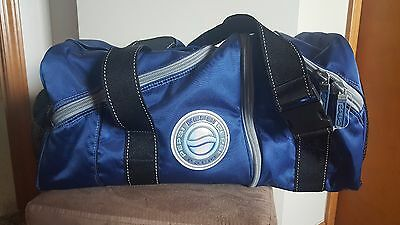 Pepsi Cola Promotion Blue Soda Pop Soft Sided Zippered 2 piece Cooler