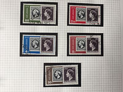 STAMPS : LUXEMBOURG - AIRS 1948 Used