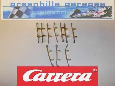 Greenhills Carrera  Go!!! Parts Pack Double sliding Contacts / Braids/ Brushe...