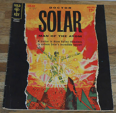 DOCTOR SOLAR MAN OF THE ATOM no.2 Gold Key 1962 Silver-age 1st Prof Harbinger