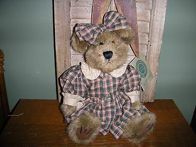 "Boyds Bears PLUSH 1999  ~10"" C.C. GOODBEAR (COUNTRY CLUTTER)~  STYLE #UNKNOWN"