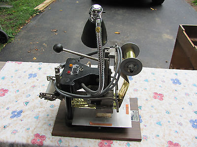 Franklin A10 Foil Stamping Imprinting Embossing Machine 400W w/ Accesories