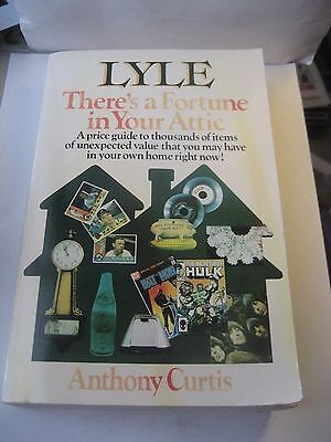 1991 First Edition Lyle There's A Fortune In Your Attic Price Guide Book