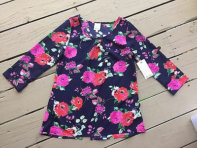 Ella Moss Size 14 floral top new with tags