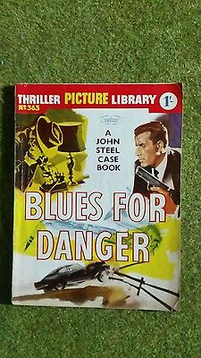Comic. Thriller Picture Library  #363. Blues For Danger.