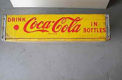 Old Coca Cola Wooden Carrier Crate