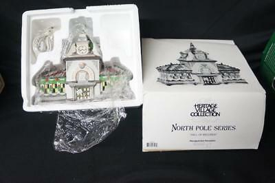 Dept. 56 Heritage Village North Pole Series Hall of Records #56392 (77)