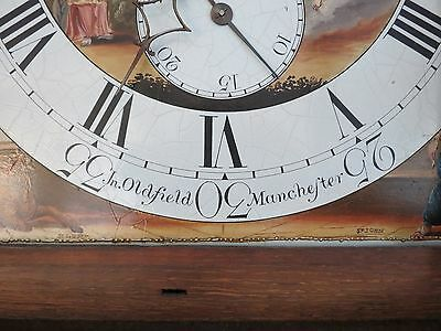 Magnificent Antique Longcase Clock. Moon Dial. 8 Day. Oldfield Manchester. c1795