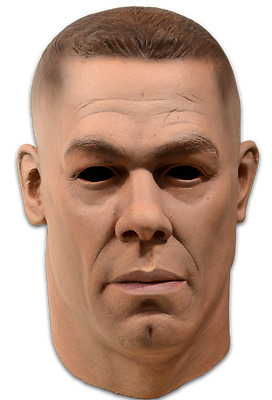 John Cena WWE World Wrestling Halloween Mask by Trick or Treat Studios