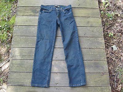 Boy's LEE regular fit straight leg blue jeans 29 X 30