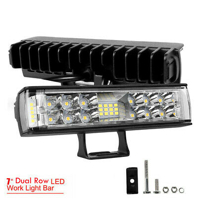 12Inch 432W OSRAM LED Light Bar Spot Flood Offroad Work Driving Lamp Truck 4WD