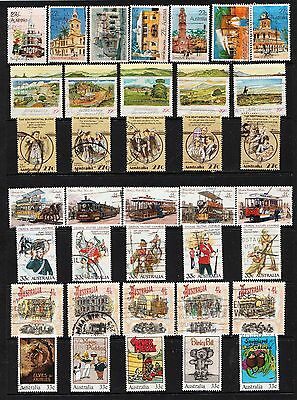 Lot 1 Page  Australian Stamps  Used