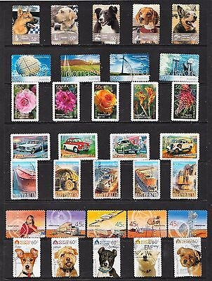 Lot 3 Page  Australian Stamps  Used