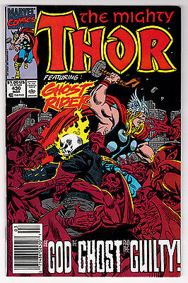 Thor #430 Ghost Rider Appearance VF