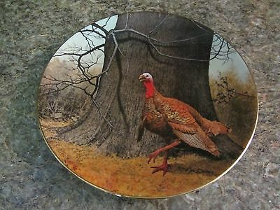 The Wild Flyers Club Special Edition Collectors Plate #1 Proud Wild Turkey, 1985
