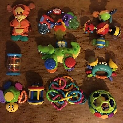 bundle baby development activity rattles NUby Fisher price Interactive Toys