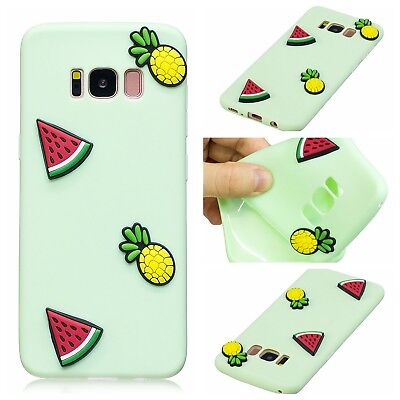 Slim Cute 3D Pattern Rubber Soft Back Case Cover Skin For Samsung Galaxy S7 edge