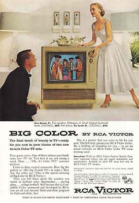 1955 RCA Victor: New Director 21 TV (11052) Print Ad