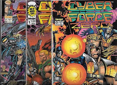 Cyberforce Lot Of 3 - #0 #1 #2 (Nm-) Image Comics