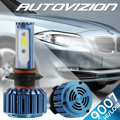 AUTOVIZION LED HID Headlight kit 9006 White for 2005-2007 Ford Five Hundred