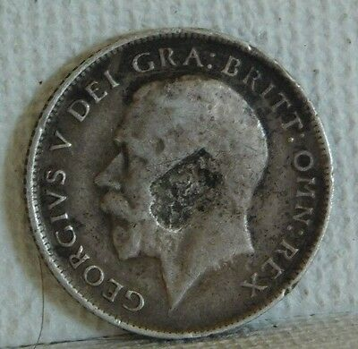 Great Britain  1916  Six Pence  Km # 815