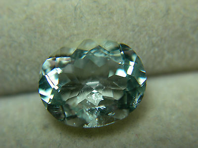 2.10ct very rare gem Mint Green Polar Feldspar Oligoclase Tanzania oval cut