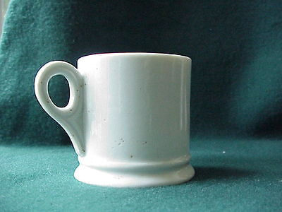 Antique White Ironstone Child's Mug