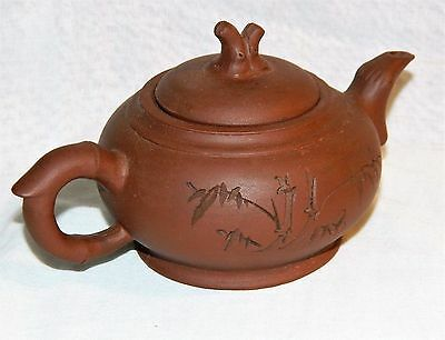 ~  Good Mid 20thc VINTAGE YIXING TEAPOT,Early WEI EAST Mark to Base, etc. ~